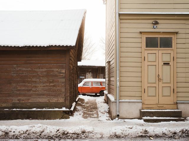 Tartu, Estonia, January 2021