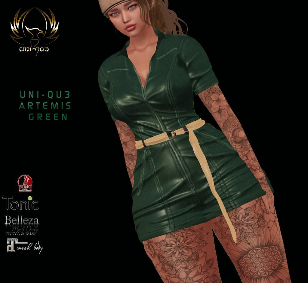 Uni-qu3  artemis  green