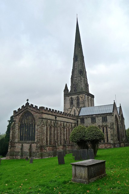 Ashbourne, Derbyshire - St Oswald's Church