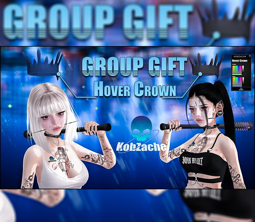 [KobZache] Hover Crown GROUP GIFT