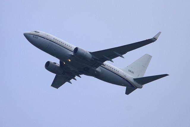 165830 Boeing C.40A Clipper