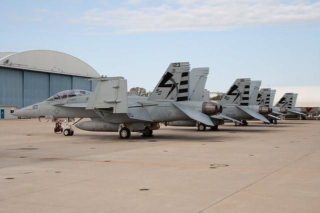VX-23 hornet flightline