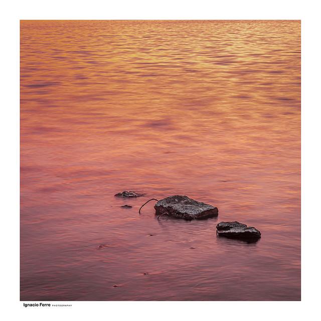 Stones & sunset