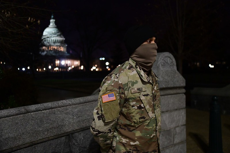 National Guard supports 59th Presidential Inauguration