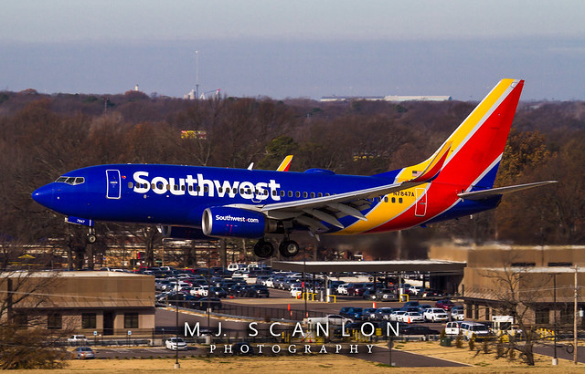 N7847A Southwest Airlines | Boeing 737-752(WL) | Memphis International Airport