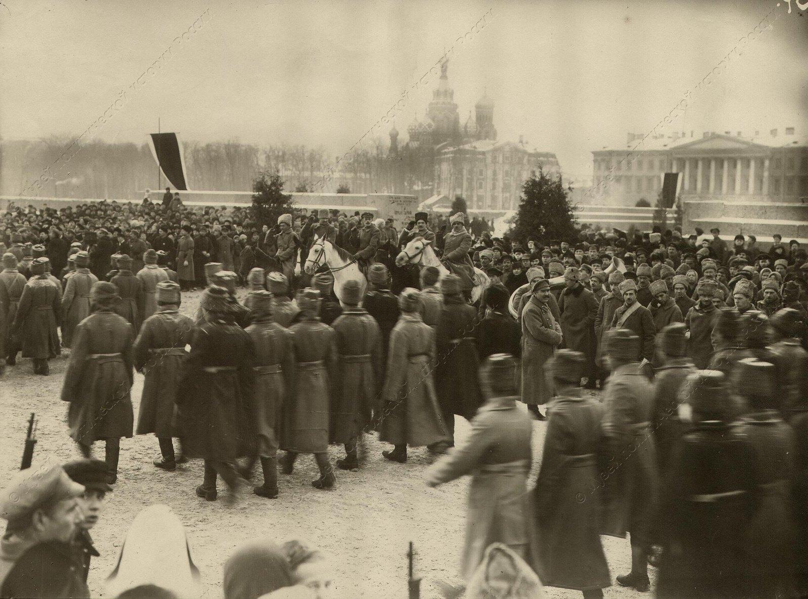 1919-1920. Смотр войск Красной Армии на Марсовом поле