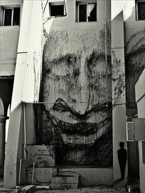 Mural on Parque Maceo/ Padre Varela, Havana