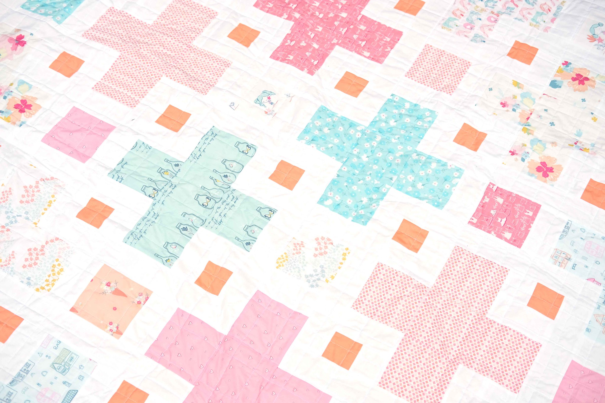 The Violet Quilt in Daydream - Kitchen Table Quilting