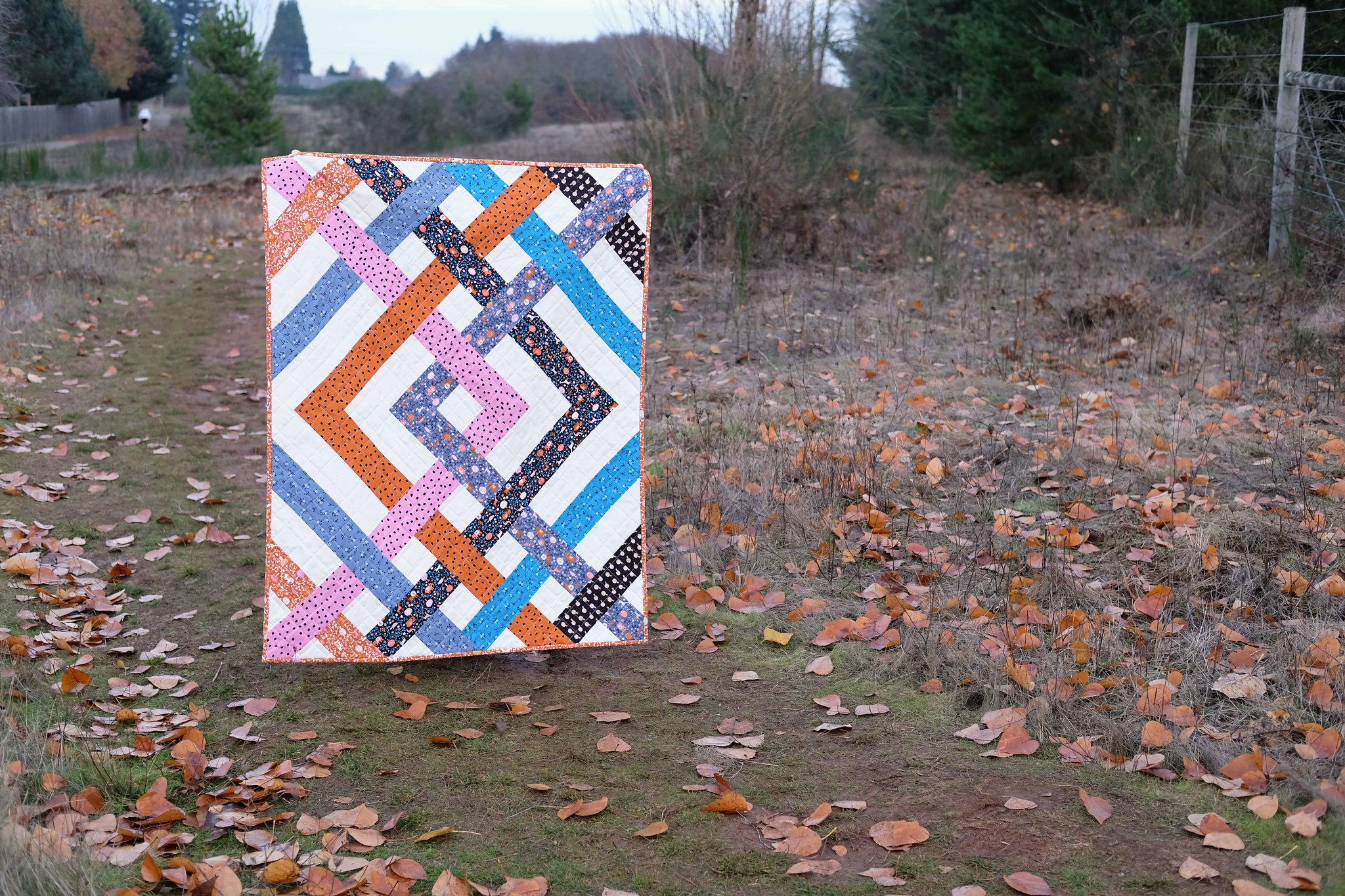 A Baby Size Eliza Quilt - Kitchen Table Quilting