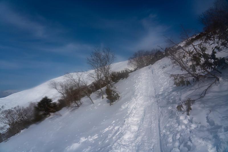 平標山 雪山登山