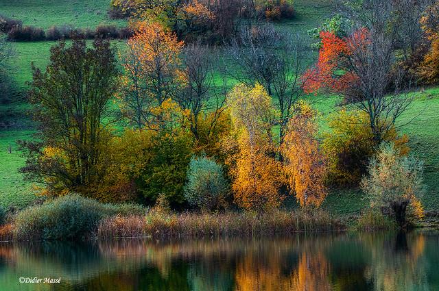 Impression d'automne sur le lac (3)
