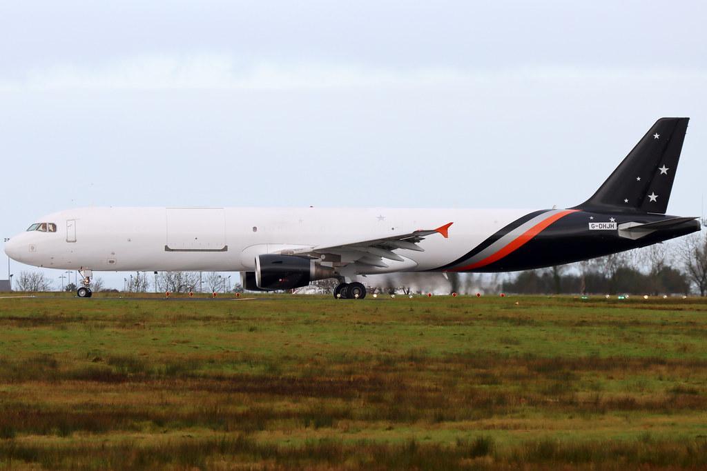 Titan Airways G-DHJH (G-POWY) BFS 14/01/21