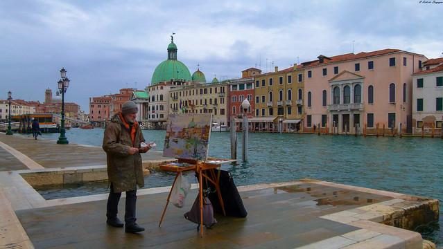 Dipingere Venezia