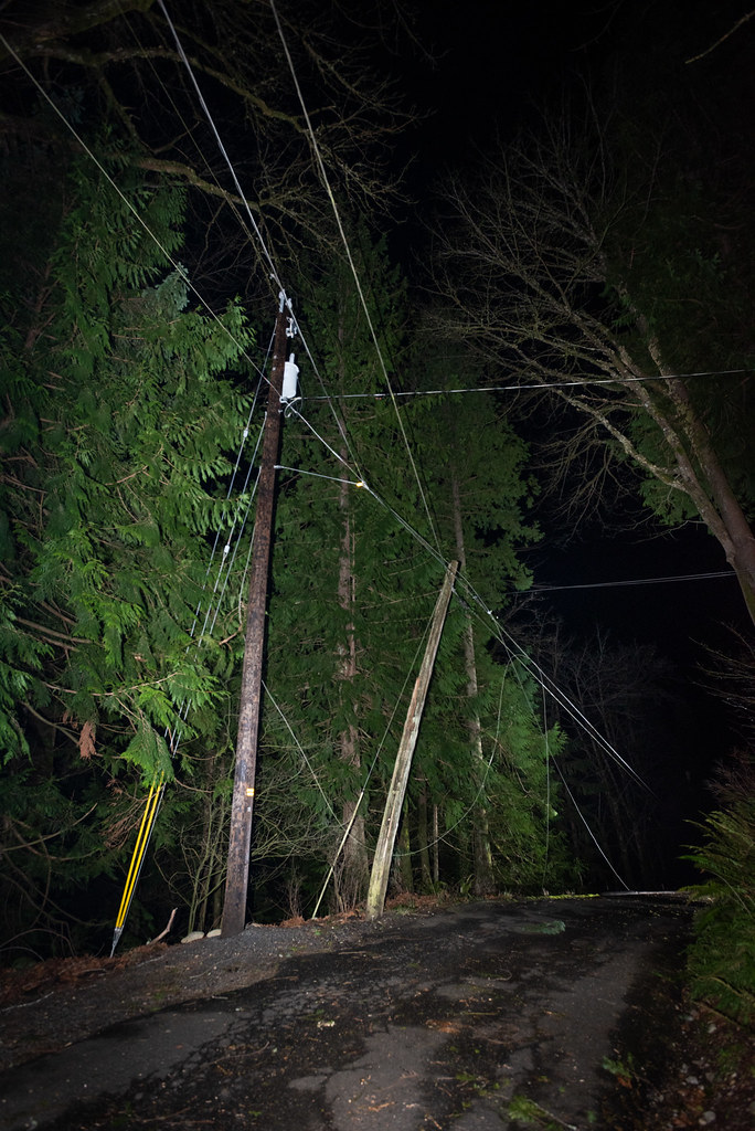 Storm damage and restoration work in Renton