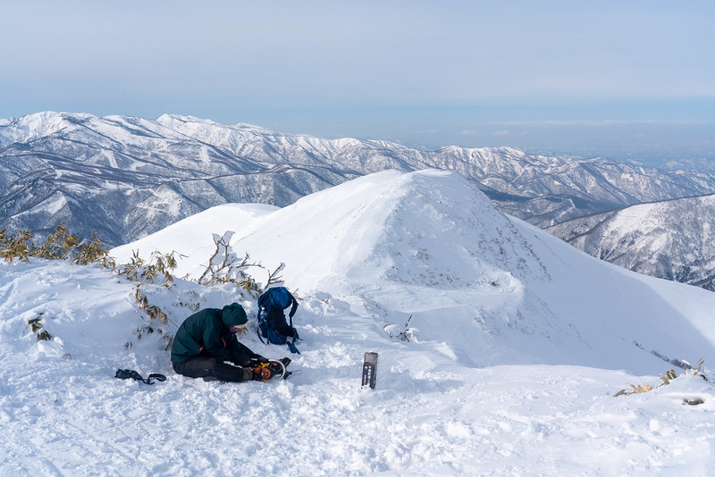 12月の平標山
