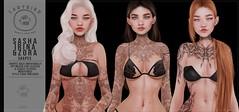 Ladybird // Sasha, Irina, & Zora shapes! ♥