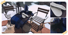 Quebec Patio Set CHEZ MOI - Exclusive to Cosmopolitan!