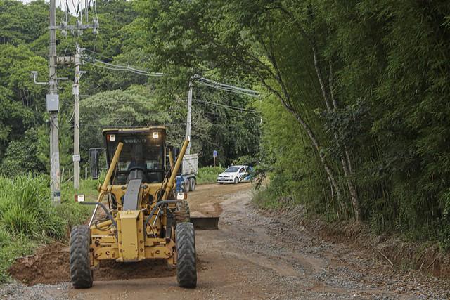 (2021.01.14) Obras na estrada da boa vista, Nova Cotia