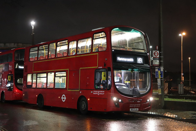 Route H91, London United, VH45108, BD13OJB