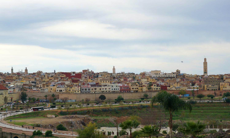 Meknes view