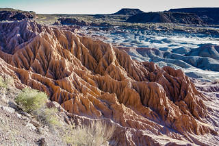 Afternoon colours - Painted desert