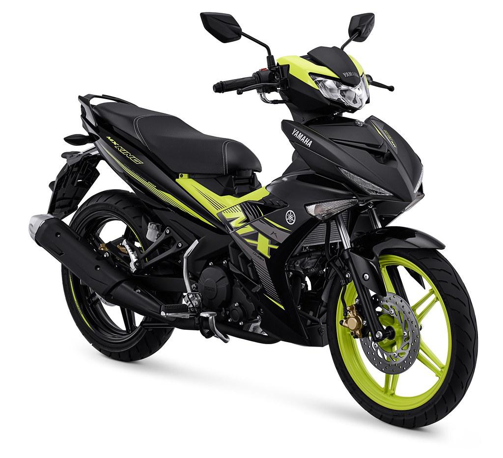 MX King 150 Sporty Black Yellow