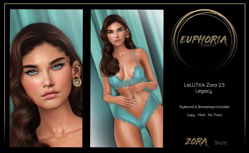 EUPHORIA Shapes – ZORA Shape ( LeLUTKA Zora 2.5 )