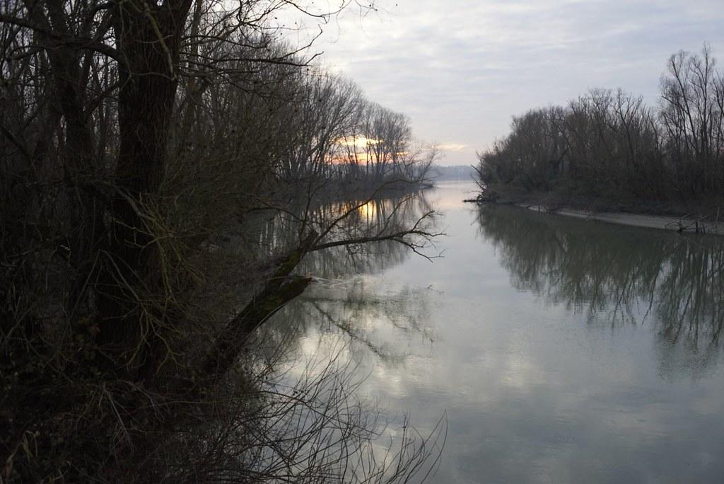 Po river mouth