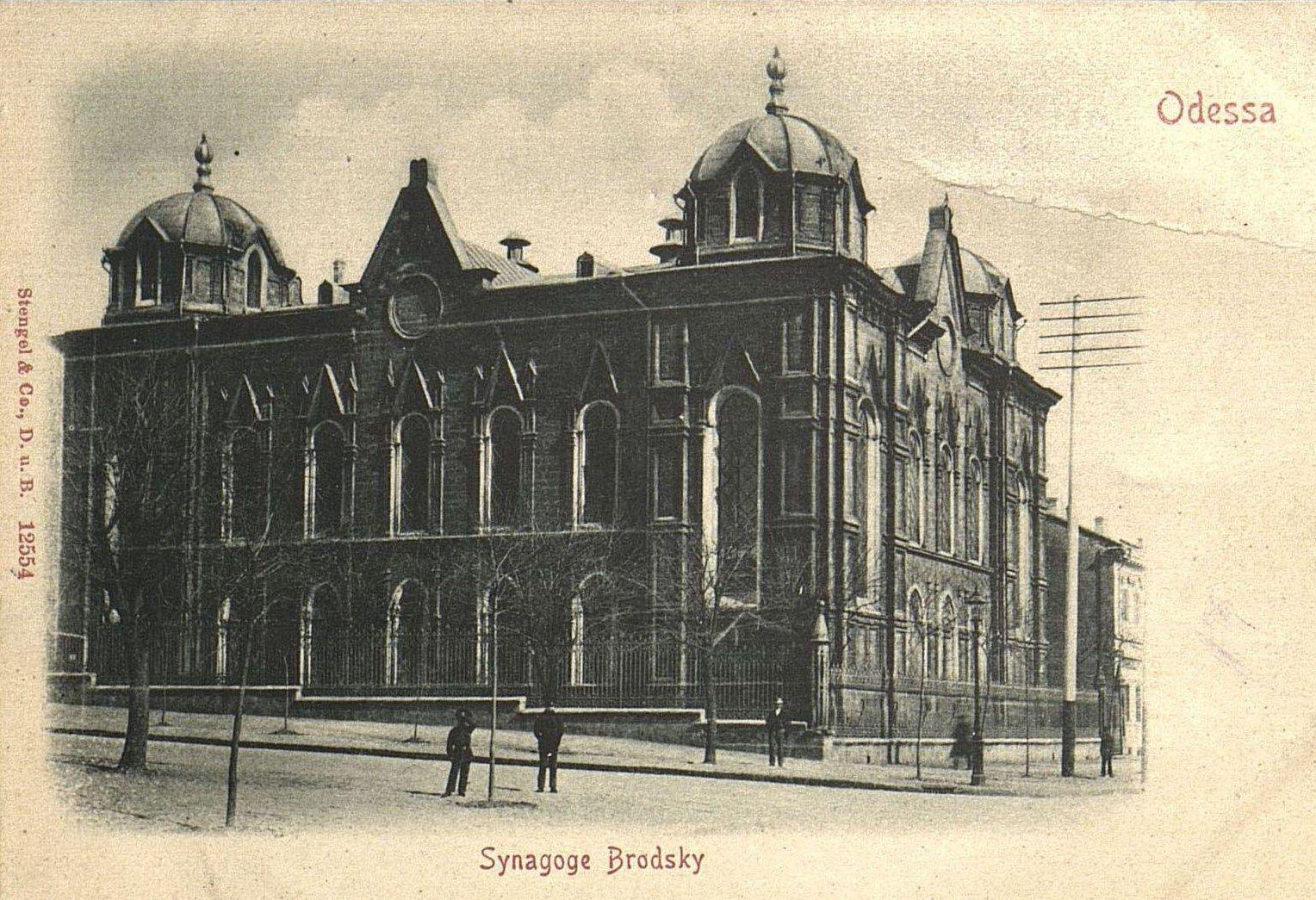 Бродская синагога1