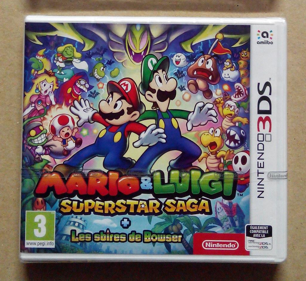 [VDS] Mario & Luigi Superstar Saga 3DS 50835436531_b97f108a6c_b