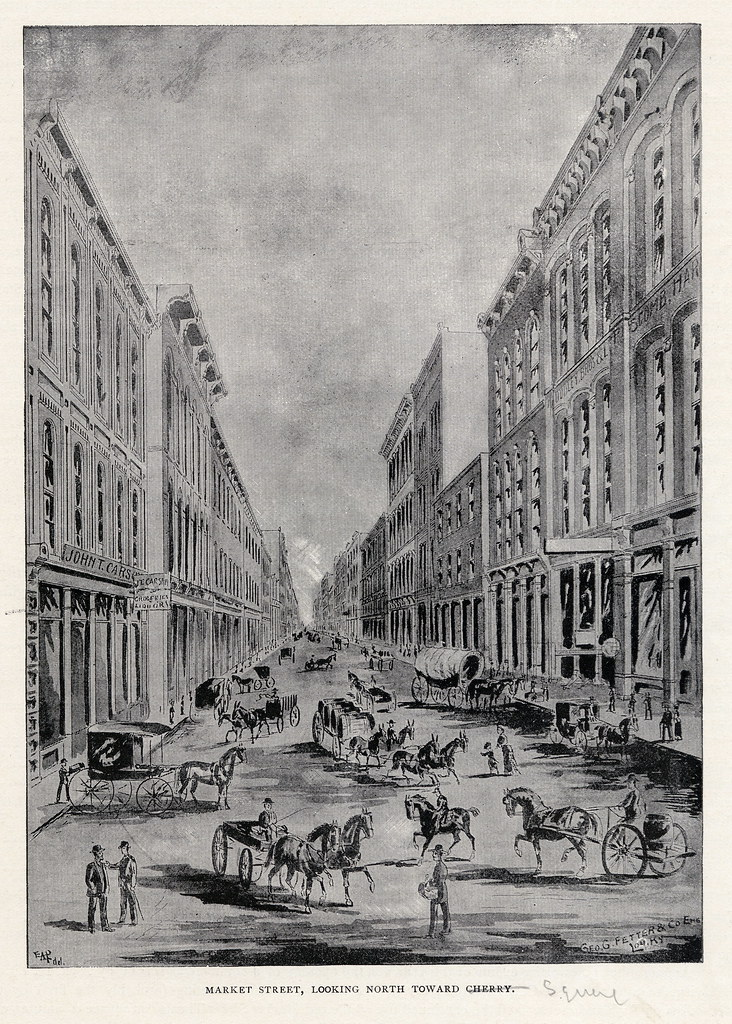Early View of Market Street