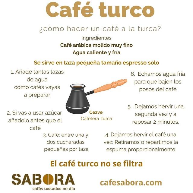 Como hacer café a la turca