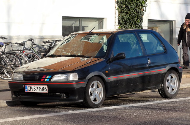 Immaculate 1995 PEUGEOT 106 XSI CM57886 is still on the roads of Denmark