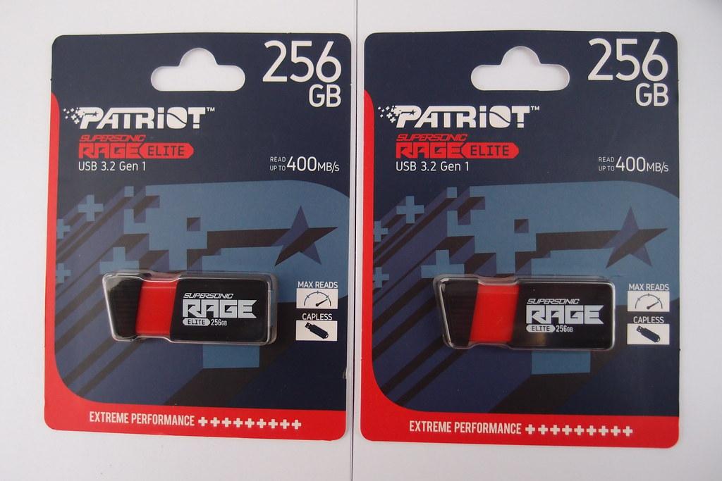 Patriot Supersonic Rage Elite Flash 256GB