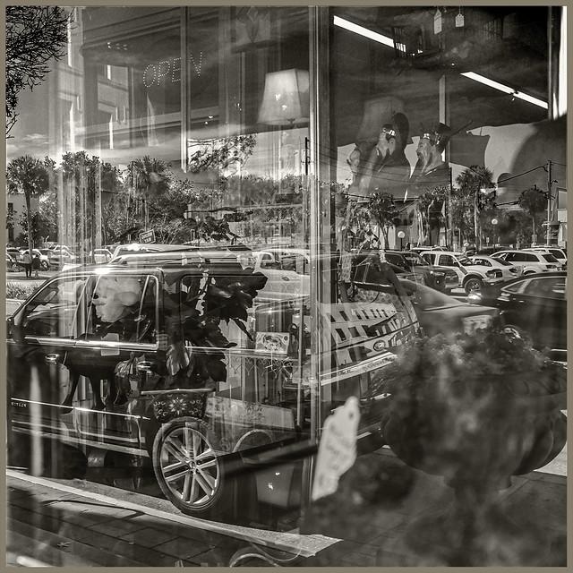 Shop Window #3 2021; Inside & Out