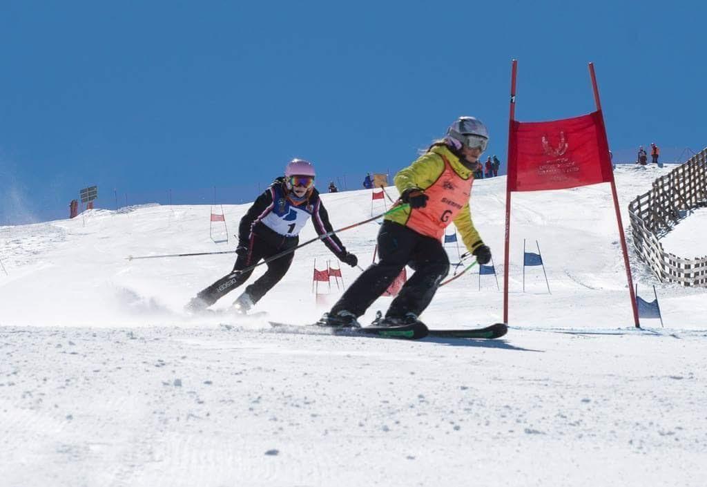 Esquiar con discapacidad visual