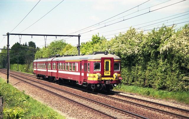 NMBS 156 Zelem 19/05/2010.