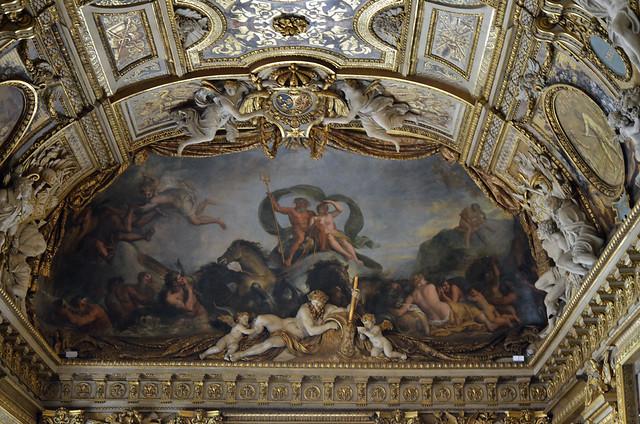 2020.08.06.117 PARIS - Musée du LOUVRE - La galerie Appolon (In Explore le 16/01/2021)
