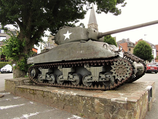American Sherman Tank used in World War II