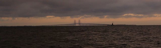Over, below and between - The Øresund Bridge - from Denmark to Sweden and back