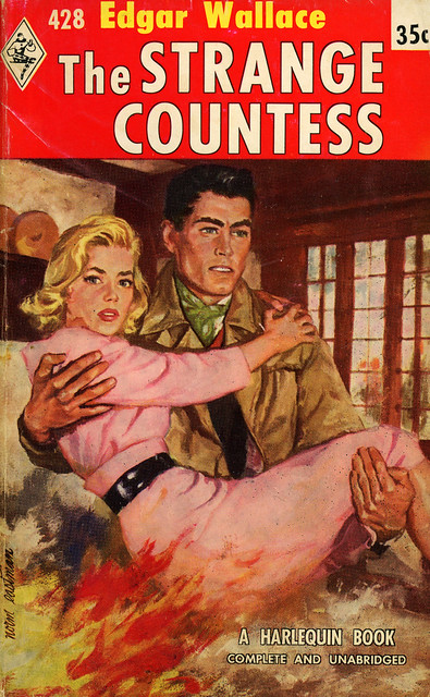 Harlequin Books 428 - Edgar Wallace - The Strange Countess