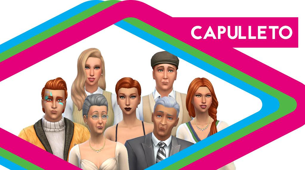 Sims de Antaño: Los Capulleto