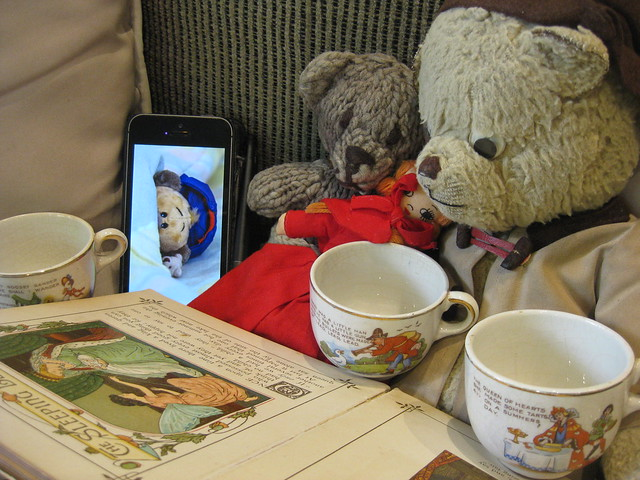 Paddington and Scout Make Peter Feel Better