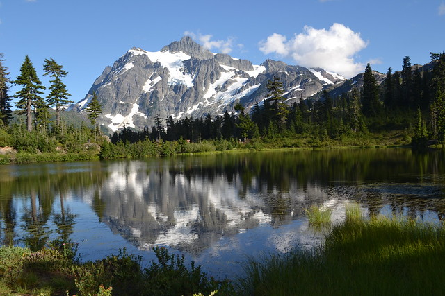 Picture Lake by Jim