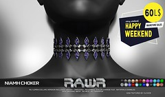 RAWR! Niamh Choker HW