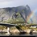 Rainbow, Toppøya, Lofoten, Norway
