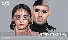 [ Versov // ]  PETITOV glasses available at Kustom9 !