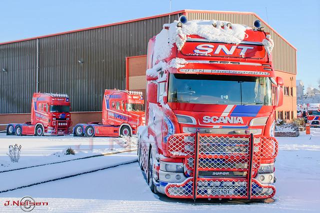 Nice Scania trio.