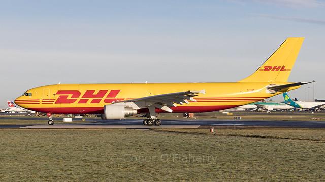 EI-OZM DHL (op by ASL Ireland) Airbus A300B4-622R(F) EIDW 9-1-21 (1 of 1)