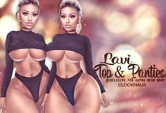 Lavi Top & Panties for BIGGIRL Event